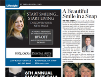 Dentists Knoxville TN - A beautiful smile in a snap
