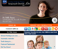 Knoxville Dental Care - August 2011 Newsletter