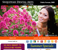 Knoxville Dental Care - August 2013 Newsletter