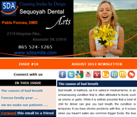 Knoxville Dental Care - August 2012 Newsletter