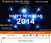 Knoxville Dental Care - January 2014 Newsletter