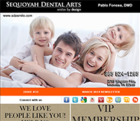 Knoxville Dental Care - March 2014 Newsletter