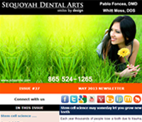 Knoxville Dental Care - May 2013 Newsletter
